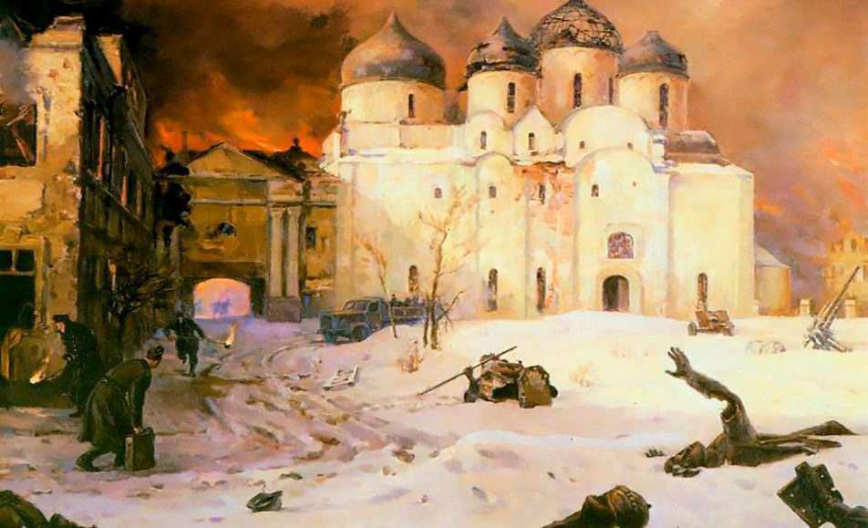 Новгородская земля в годы Великой Отечественной войны, 1941-1945 гг.