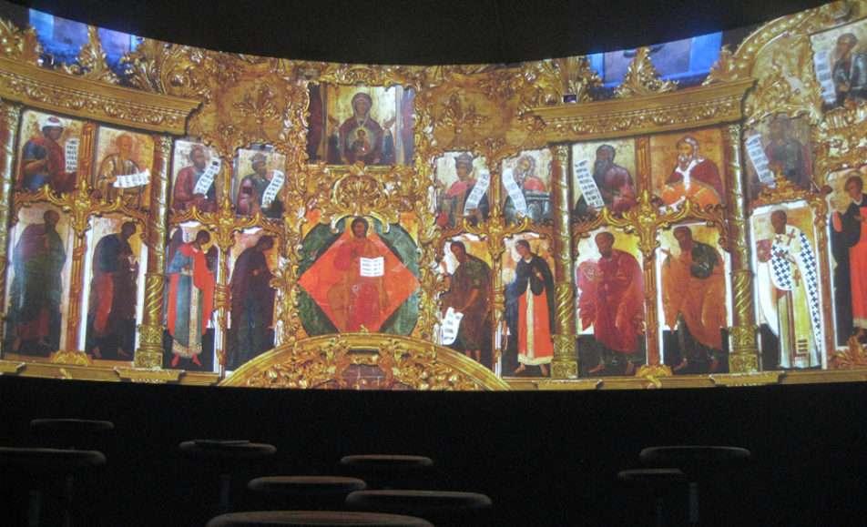 Мультимедийная панорама Великий торг и Княжий двор