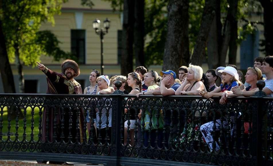 Театрализованные экскурсии по Великому Новгороду