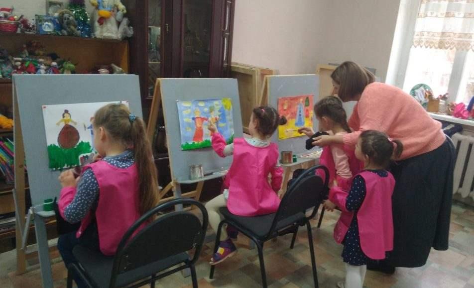 Детский час в музее