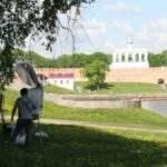 Экспозиция Новгородского отделения ВТОО «Союз художников России»