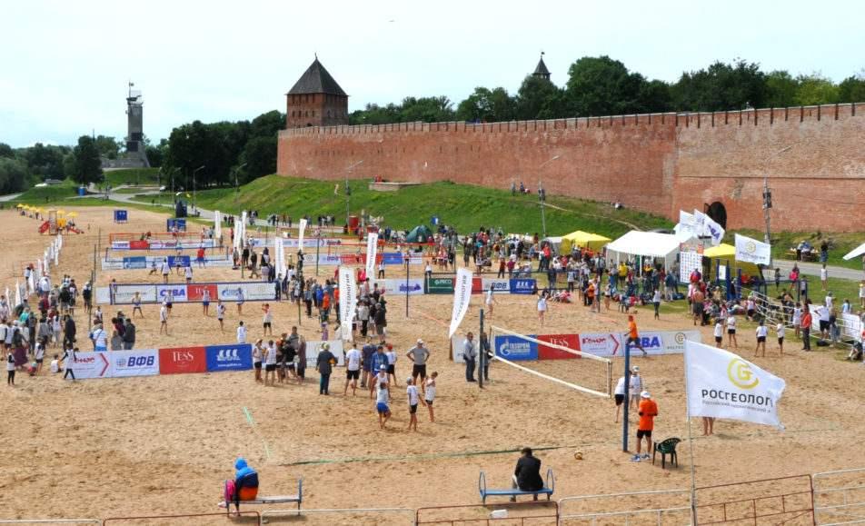 EEVZA Beach Volleyball Kid's Festival
