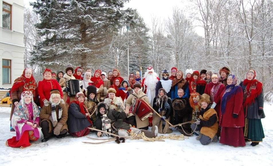Сказочное Новогодье в Витославлицах