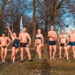 Городские соревнования по зимнему плаванию, посвященные освобождению Новгорода