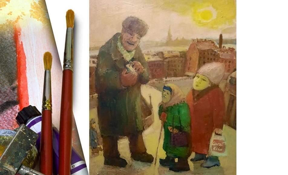 Живопись из коллекции Новгородского центра современного искусства