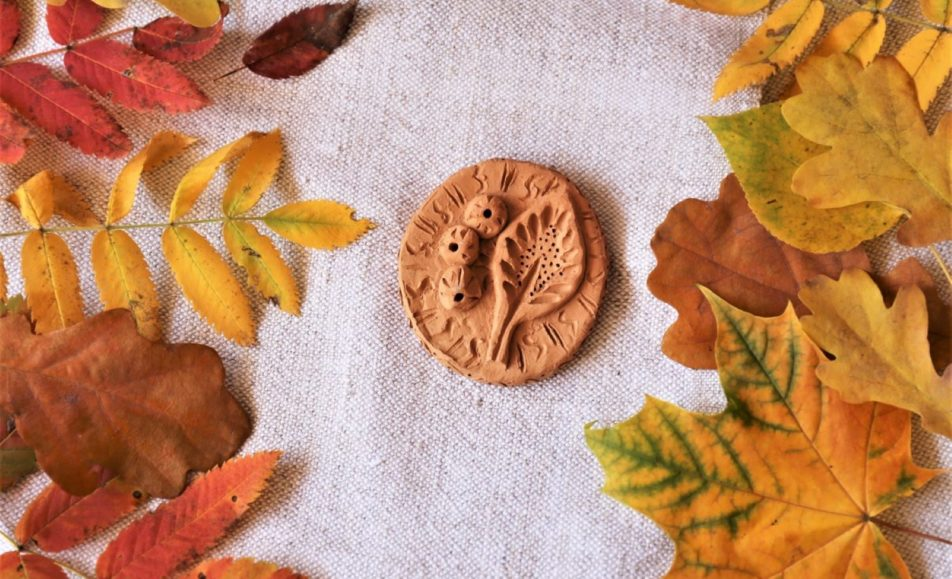 Осенняя плакетка