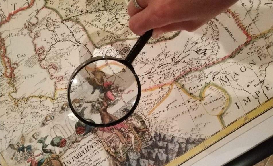 Картографические загадки