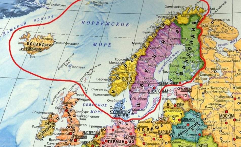 Литературное путешествие по Скандинавии