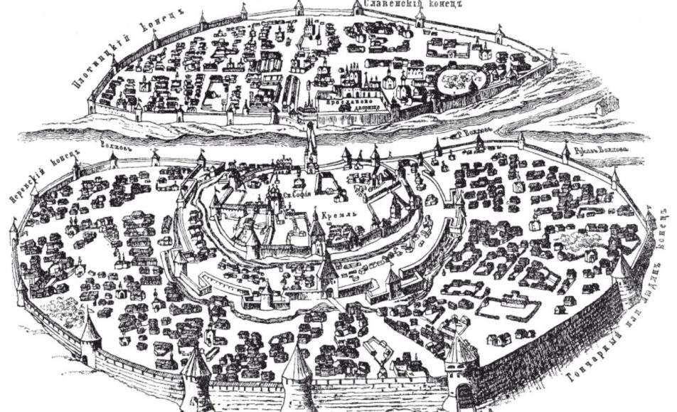 Внимательное путешествие по центру Древнего Новгорода
