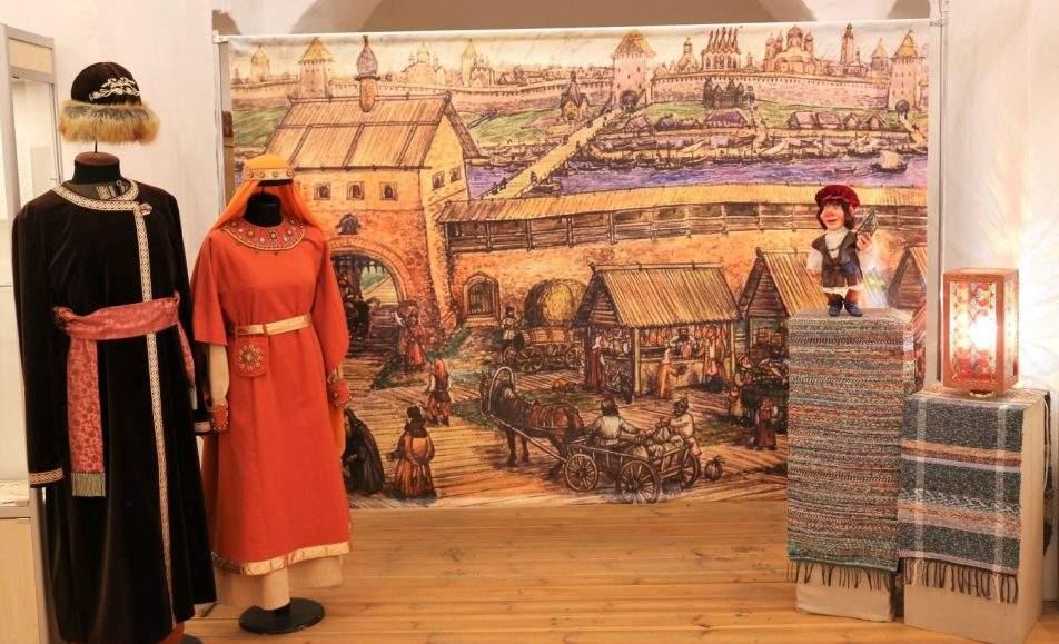 Зарисовки из жизни людей и вещей древнего Новгорода