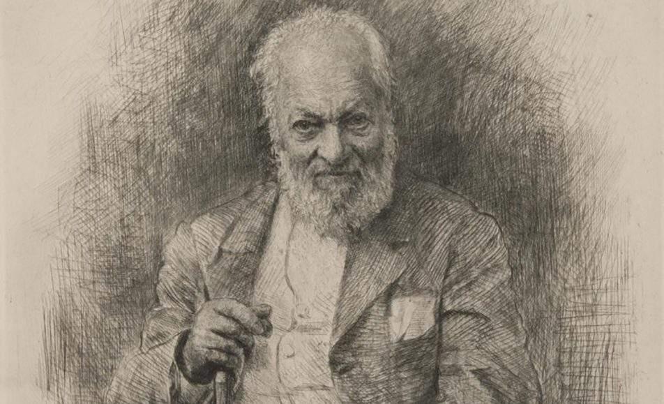 Мастер трепетного штриха В. В. Матэ