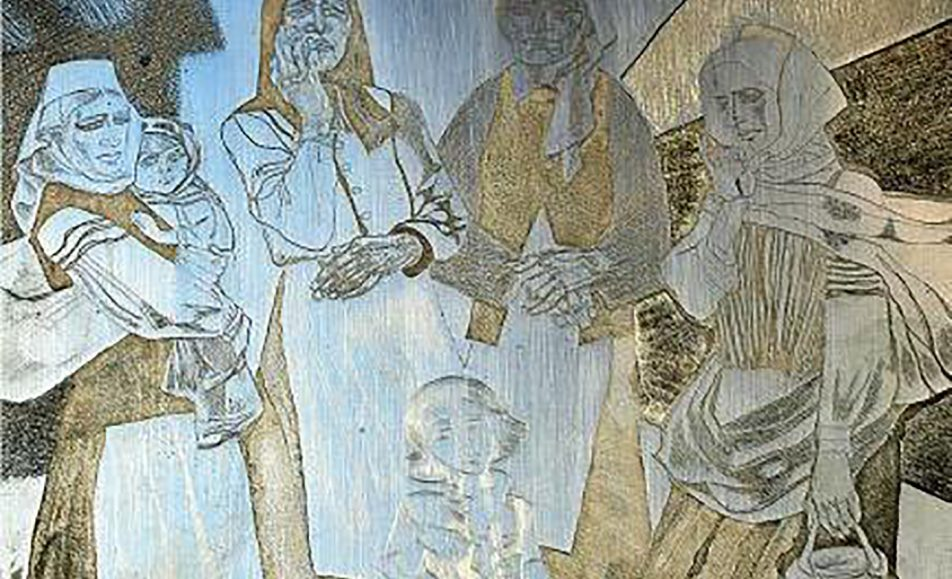 Офорты Георгия Поплавского из фондов Национального Полоцкого историко-культурного музея-заповедника